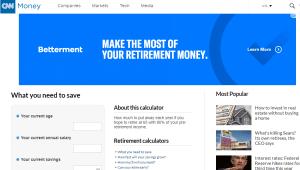 CNN Money Retirement Calculator Review