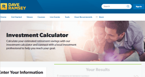 Dave Ramsey Retirement Calculator Review
