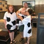 Cow Day at Chick Fil A