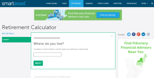 Smart Asset Retirement Calculator Review