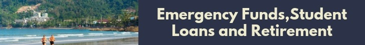 Emergency Funds,Student Loans and Retirement