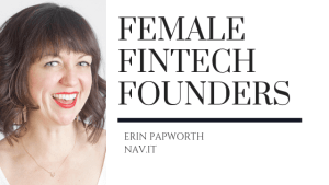 Female Fintech Founders Erin Papworth Nav.It