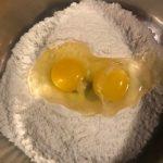 Making egg noodles