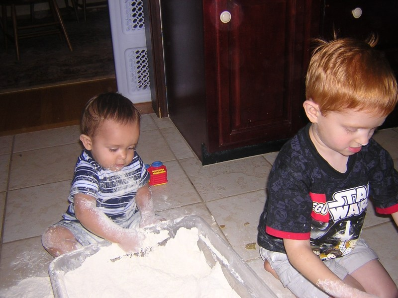 My boys in 2008