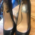 Fancy black shoes