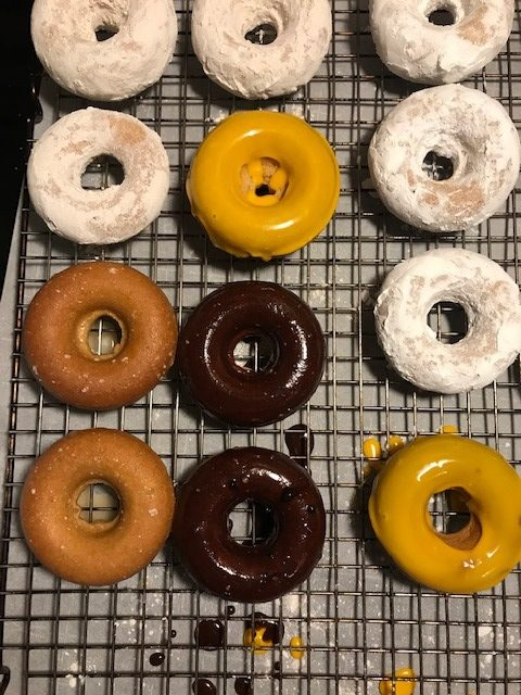 White Whole Wheat Donuts