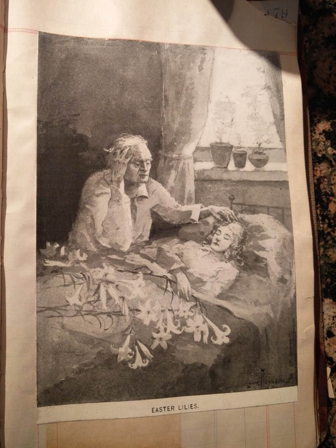 Image from scrapbook of Francis O'Neill. Author's collection