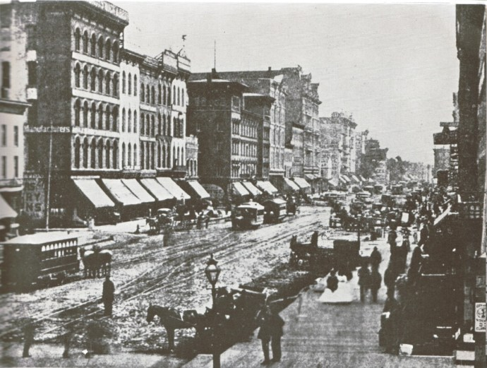 State Street, Chicago, 1870s
