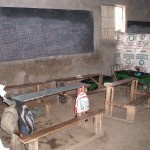classroom at one of the informal school