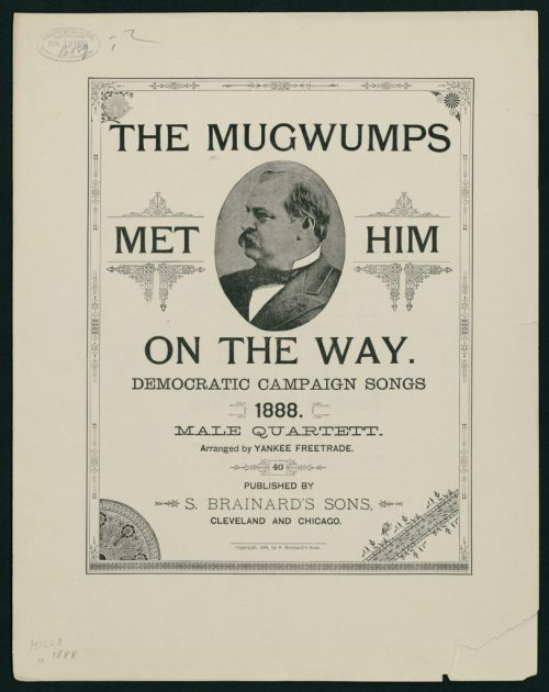 Songs Grover Cleveland's Presidential Election 1888
