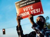 amazon union, union workers, amazon union vote, bessemer alabama, RWDSU