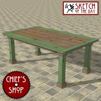 family kitchen table | Chief's Shop