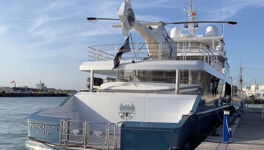 A super yacht