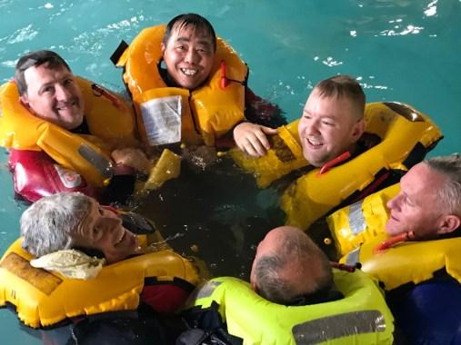 RYA MCA Sea Survival Pool Session