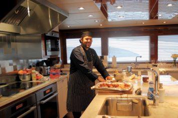 Super Yacht Food Preparation