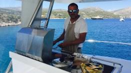 Yacht BBQ