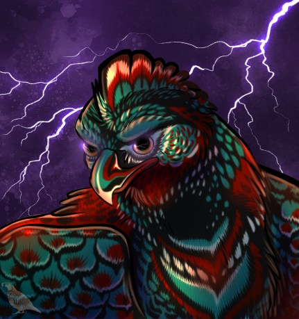 Thunderbird, gods of the upper world