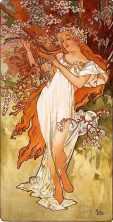 Vesna, goddess of spring and youth