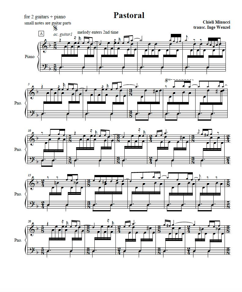 Chieli Minucci Sheetmusic