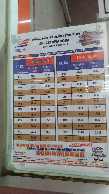 Jadwal Kereta Api Medan Kisaran : jadwal, kereta, medan, kisaran, Jadwal, Kereta, Medan, Kisaran