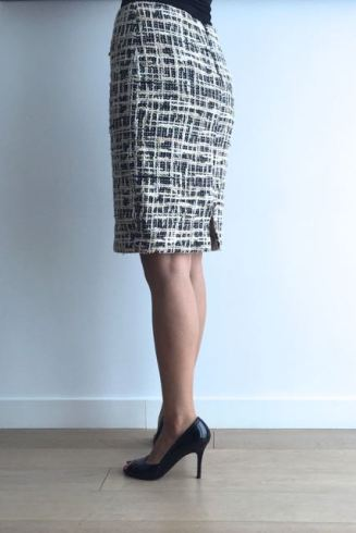 skirt-tweed