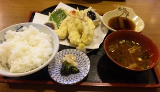 天ぷらってシンプルだけど揚げ具合など店で違うよね。金屋食堂