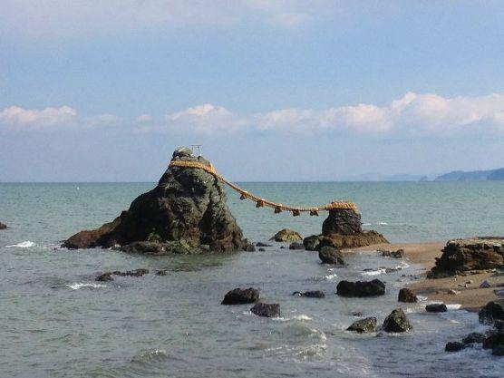 三重県夫婦岩