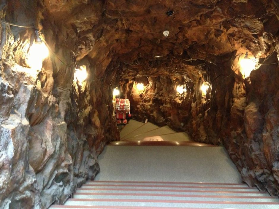 地下資源館入口
