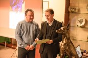 Yves De Clercq - Executive Director of the FCI and Pedro Santiago Allemant - movie's Directo. Photo by Alessandro Pucci
