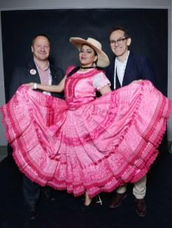 Yves De Clercq - Executive Director of the FCI, Debora Chirinos - Dancer Director of Marca Peru and Pedro Santiago Allemant - Movie director