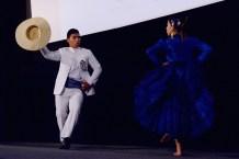 Lucie Ramirez and Yannick Gonzales - dancers of Marinera. Photo by Mauricio Alvarez.