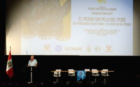 Carlos Godoy Vidal - interpreter. Photo by Mauricio Alvarez.