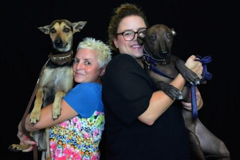 Ninpho Sweety Punk, Adeline Murias, Julie Segaert and Poppers Sweety Punk. Photo by Mauricio Alvarez.