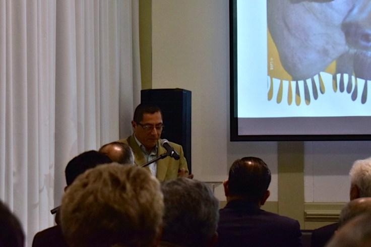 """Enrique Revilla, especialista del Sector Educación de UNESCO Perú: """"Hoy no solo vengo a reconocer a una raza, que es parte de nuestra cultura. Sino también, vengo a dar un testimonio de lo que significa tener a un miembro de la familia con estas características"""""""