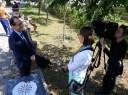 Pedro Santiago Allemant - movie director and Anna Kosstutschenko - Touchpoints - UATV 2.