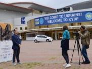 Pedro Santiago Allemant - movie director and Anna Kosstutschenko - Touchpoints - UATV 2. Photo by Mauricio Alvarez