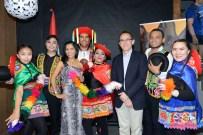 "Russian group of Peruvian dance ""Marca Peru"". Photo by Mauricio Alvarez"