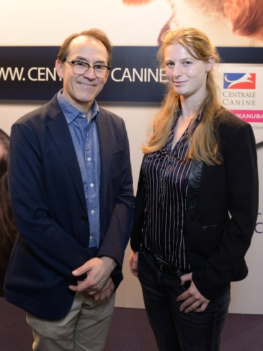 Pedro Santiago Allemant (réalisateur du film) et Anne- Lise Lebrun (Chef Communication de la SCC). Photo by Mauricio Alvarez