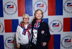 Anne Marie Class (Secrétaire adjointe - SCC) et Hélène Denis (Vice Présidente - Association canine de la Lorraine). Photo by Mauricio Alvarez