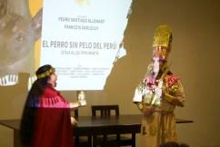 Arturo Leonidas Guevara Ramírez y Marleni Batalla Paredes Aguinaga (artistas - representando al Señor de Sicán y su esposa) - By Favio Jordi Martínez Nuntón - appp/adpp ©2018