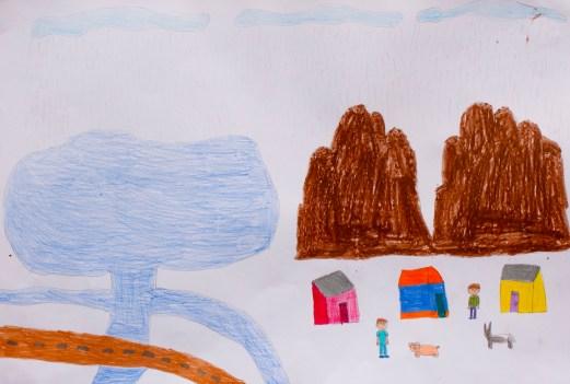 El Perro sin pelo del Perú fue fuente de inspiración en algunas de las pinturas ganadoras del Concurso de dibujo y pintura de la MMUVALL / Prevención para la conservación del patrimonio cultural - appp – adpp©2019.