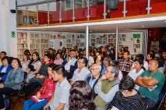 """""""El Perro sin pelo del Perú con pelo"""": Presentación en la Alianza Francesa de Trujillo. Photo by Mercy Castro Haro."""