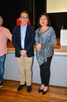 Pedro Allemant (realizador) y la Arqeol. Teresa Rosales Tham - Directora de Arqueobios. Photo by Merci Castro - appp-adpp ©2019.