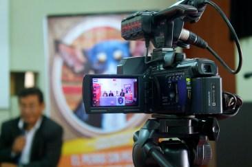"""""""El Perro sin pelo del Perú con pelo"""": Conferencia de prensa – DDC Lambayeque. Photo by Favio Jordi Martínez Nuntón / appp – adpp©2019."""