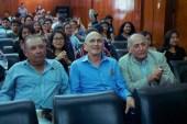 Miembros de la Facultad de Medicina Veterinaria de la UNPRG representada por el Dr. José Luis Vílchez Muñoz – Decano de la Facultad de Medicina Veterinaria (derecha). Photo by Favio Jordi Martínez Nuntón / appp – adpp©2019.