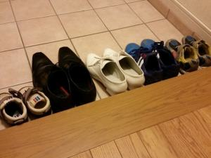 梅雨の時期の靴のお手入れ