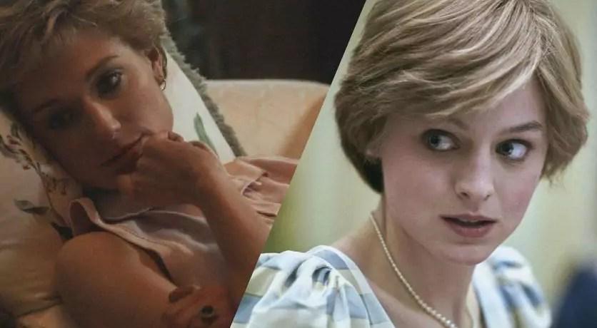 Emma Corrin e l'incontro con Elizabeth Debicki, la nuova Diana in The Crown 5