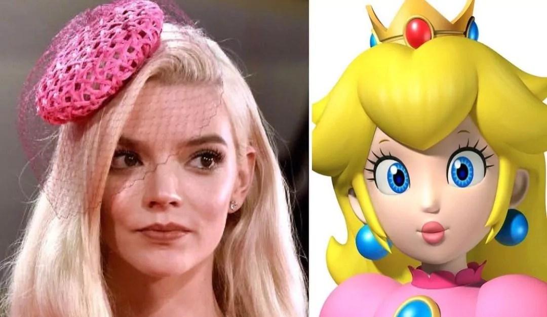 """""""Super Mario Bros."""": Anya Taylor-Joy sarà la voce di Peach"""
