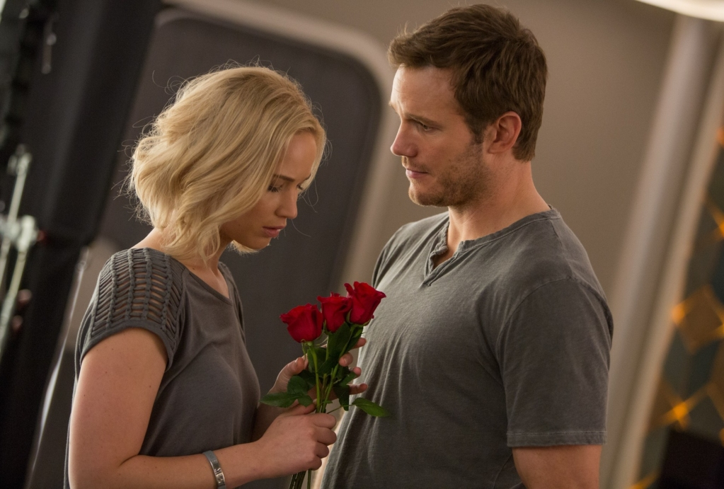 Passengers: Jennifer Lawrence e Chris Pratt sono i protagonisti della pellicola di Morten Tyldum
