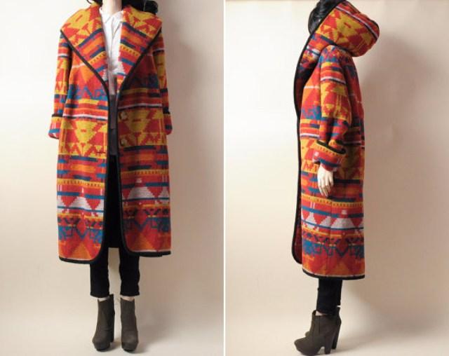 navajo coat persephonevintage